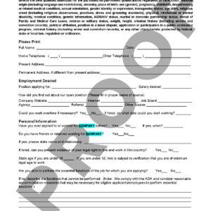 employment application spanish next level strategies